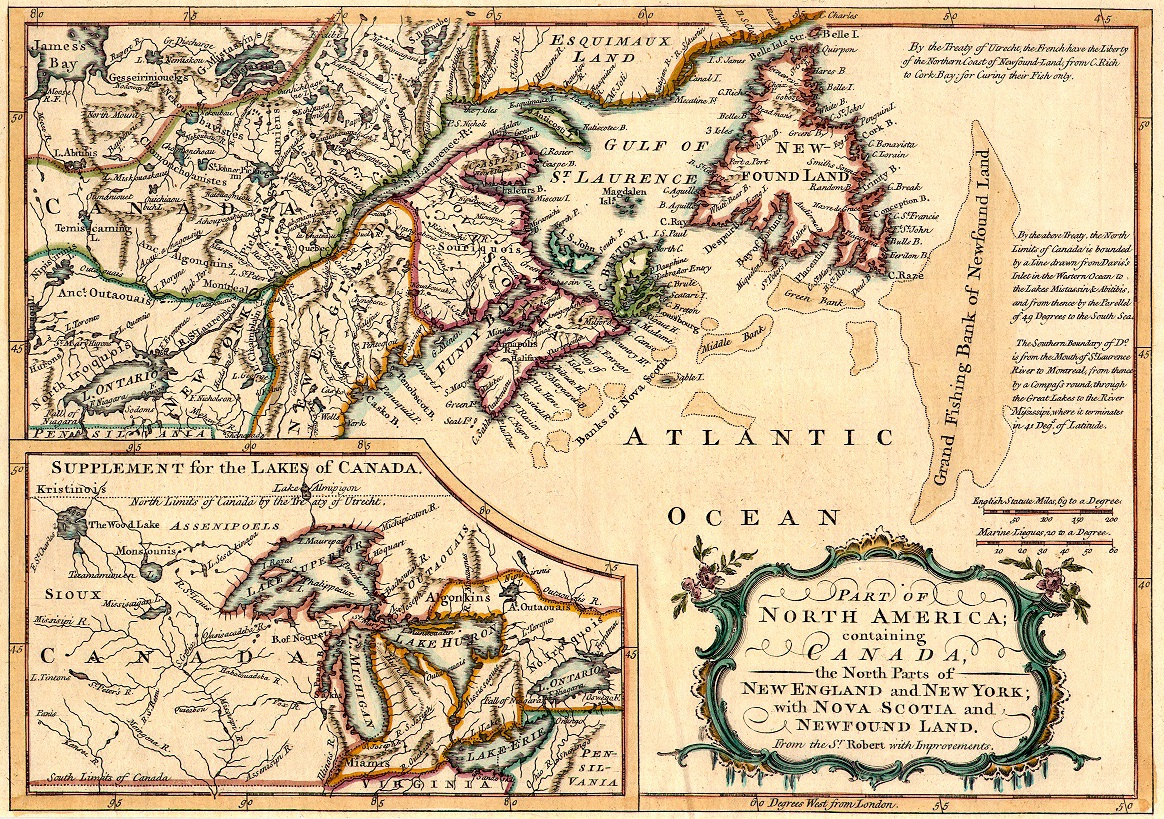 Historic Maps Of Newfoundland And Labrador - Map of newfoundland
