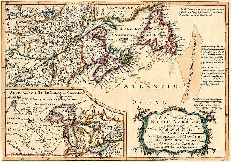 Map Of Canada Newfoundland.Historic Maps Of Newfoundland And Labrador
