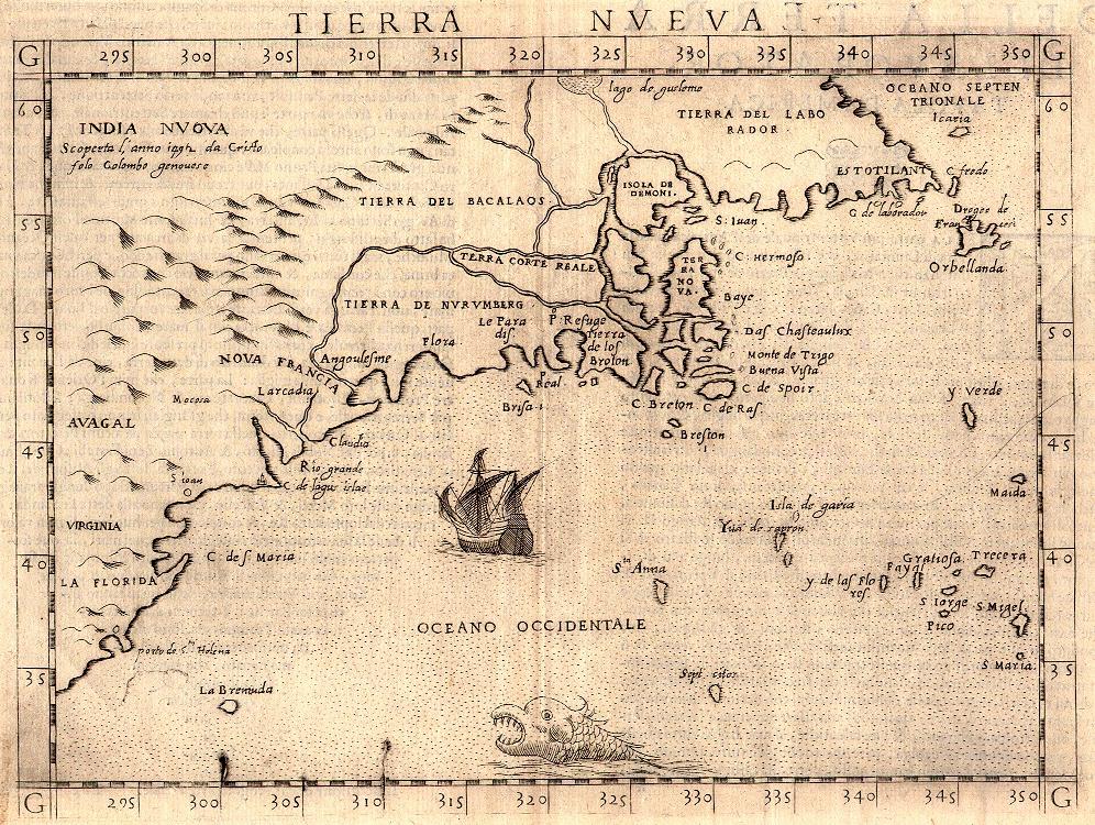 Historic Maps of Newfoundland and Labrador